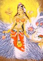 hindu goddess artwork