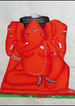 ganesh art from india