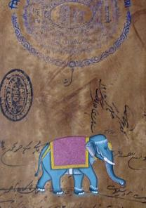 Paintings of Animals on Antique Banknotes from India